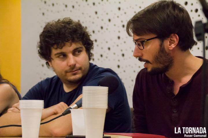 Oriol Puig (@Pumocat) i Albert Martí (Trast) a Ter