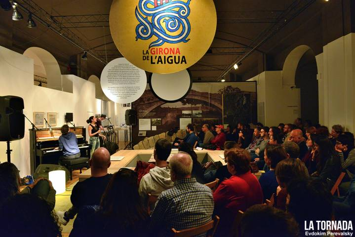 Clara Peya a 'Les veus de l'aigua'