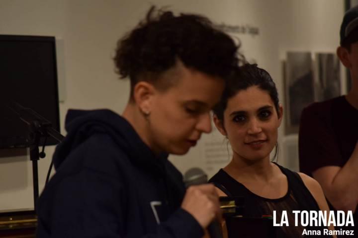 Clara Peya i Sandra Sangio a 'Les veus de l'aigua'