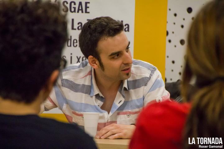 Marc Riera (Doctor Prats) a l'ESMUT de Terrassa