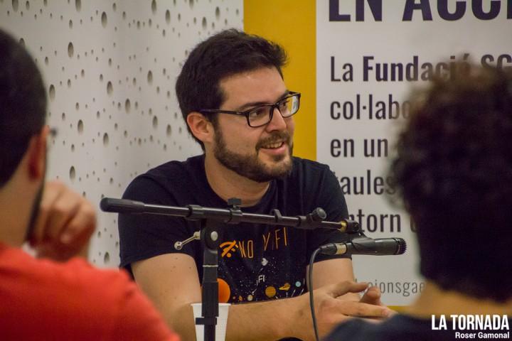 Josep Jaume Rey (Doctor Prats) a l'ESMUT de Terras