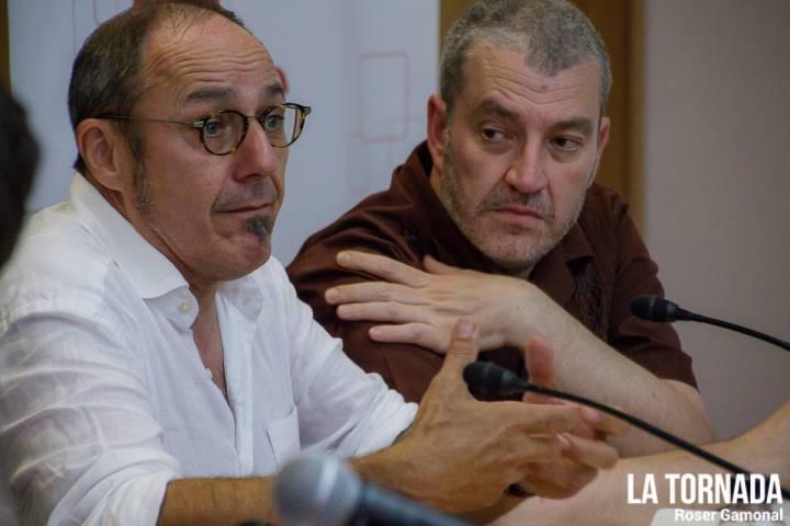 Pere Camps i Gerardo Sanz