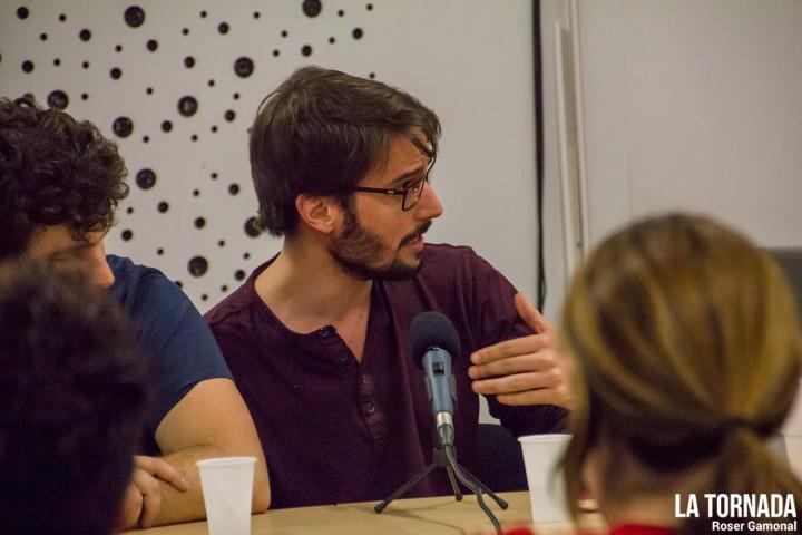 Albert Martí (Trast) a l'ESMUT de Terrassa