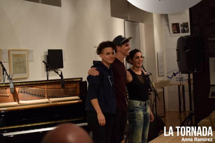 Clara Peya trio a 'Les veus de l'aigua'