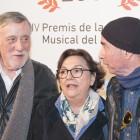 Joan Molas, Núria Batalla i Lluís Llach als Premis