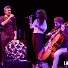 XY i Ferran Savall a la Foyer del Liceu de Barcelo