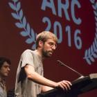 Guillem Gisbert (Manel) a la Barts pels Premis ARC