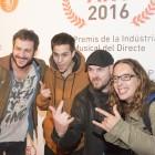 Buhos a la Barts de Barcelona pels Premis ARC