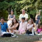 Públic dels Concerts a Casa. Anaïs Vila