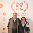 Joan Molas i Núria Batalla als Premis ARC 2016