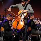 Oriol Aymat (Blaumut) amb Banda a Lleida
