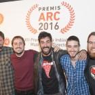 Ebri Knight a Barcelona pels Premis ARC 2016